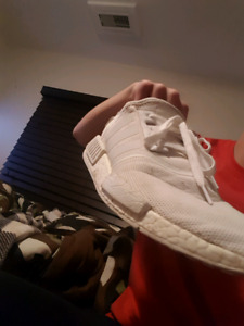Size 10 addidas nmd tripple white