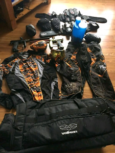 Paintball gear, will trade for fishing or power tools