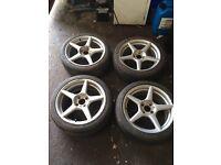 205/45-17 Pirelli tyres 4x108 ford Peugeot Citroen