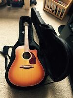 Seagull acoustic/electric guitar