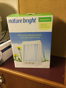 New NatureBright SunTouch Plus Light and Ion Therapy Lamp