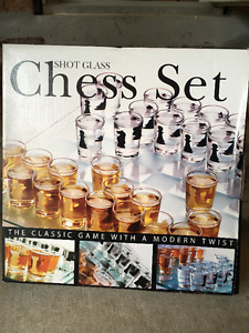 brand new chess set and Kids Record Player