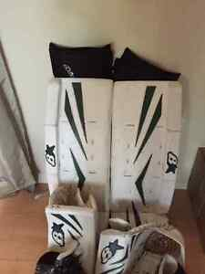 Goalie gear mint 31+1 Brian's pads and much more. Must go