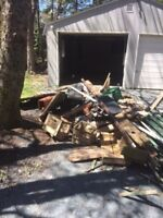 We haul away trash junk debris/moveout cleanup-shed/deck DEMO