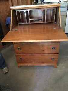 Wooden Secretary desk