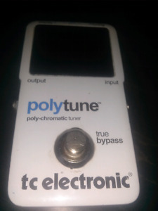 Polytune TV ELECTRONIC POLY CHROMATIC TUNER