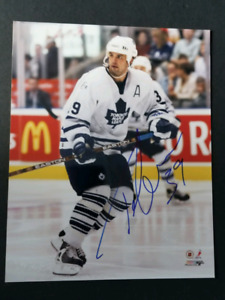 Travis Green Autographed Toronto Maple Leafs 8x10