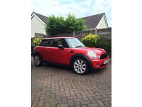 Mini 1.4, 59 Reg, RED. 1 owner from new