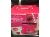 Chocolate fondue maker