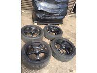 Subaru impreza 18 inch jdm style wheels