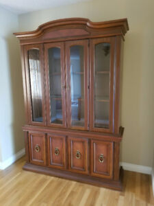 Specious China cabinet for sale