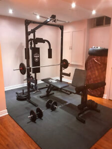 PERFECT GYM SET FOR YOUR HOME **** $1000*** ALL INCLUSIVE