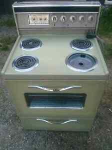 Free stove.