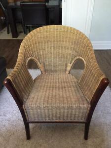 Oriental Rattan Chair