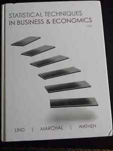 Statiatical techniques in business and economics 15th ed RRC