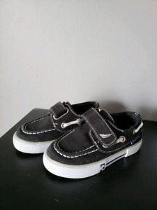 Nautica Boat Shoe Black Toddler 6 excellent condition