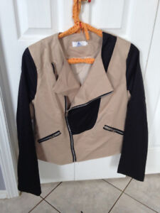 Cute Lined Jacket - BRAND NEW (Small fitting Large)