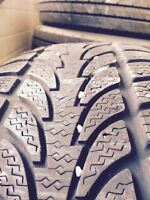 225 60 R 16 for sale four winter tires used but good condition
