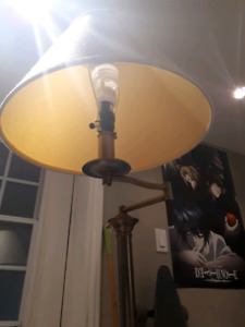 """45"""" Standing Lamp with with rotating pivot"""