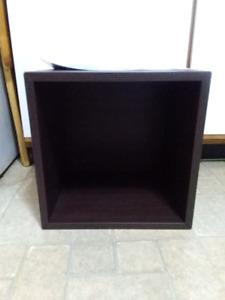 IKEA Valje Black-Brown Storage Cube