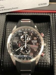 MONTRE CITIZEN ECO DRIVE RADIO CONTROL LIMITED ÉDITION 479.95$