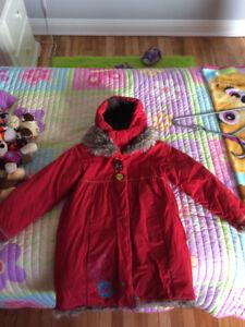 Manteau Hiver Enfant 6 ANS