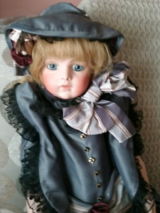 French Bisque Bru Repro Doll