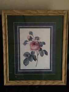 Wall Rose Picture With a Frame London Ontario image 3