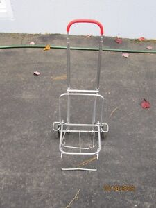 Metal pull cart/dolly