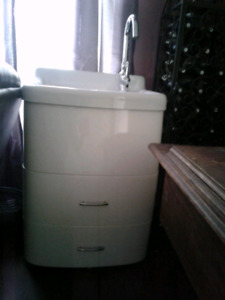 Laundry Cabinet with faucet