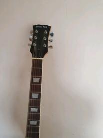 Les Paul style electric guitar