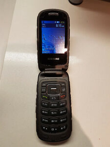 Telus Samsung Rugby 3, Flip Phone  Good Condition