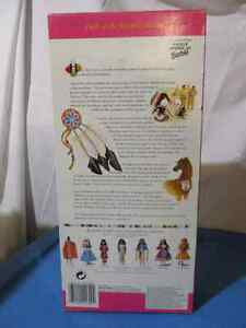 NEW PRICE Special Edition Native American Barbie Cambridge Kitchener Area image 2