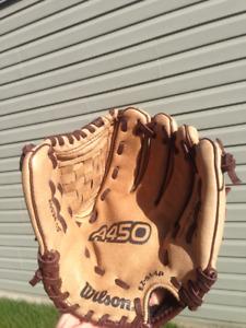 Wilson 10inch baseball glove