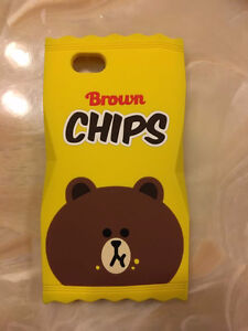 line brown bear - iphone 6/6s case