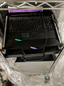 Rackmount Keyboard and Trackpad Mouse