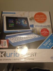 NEW smart laptop windows 10 - tablet + PC - keyboard included
