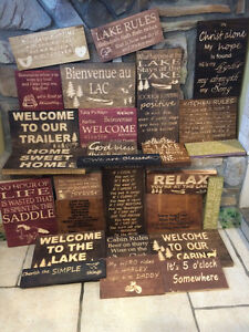 custom made Cottage Signs