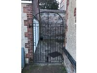 Pair of Tall Wrought iron gates