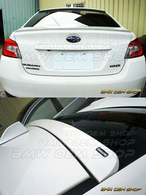 EXTREME 2015 ALL COLOR PAINTED SUBARU WRX SEDAN REAR ROOF SPOILER Furious