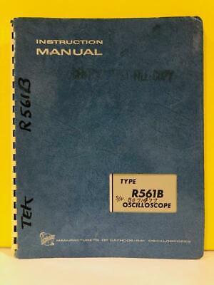 Tektronix 070-0803-00 Type R561b Sn B071477 Oscilloscope Instruction Manual