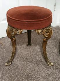 Velvety stool