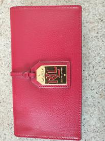 Brand new designer 2 ralph lauren leather purses
