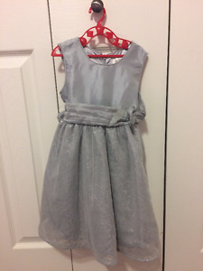 Silver Children's Place Dress - Size 24M