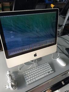 20'' iMac 4GB RAM & 250GB HDD for sale
