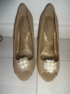 Women's shoes size 9.5 (US) , heel - 5 inches