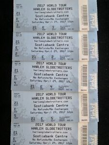 Harlem Globetrotter Tickets - AWESOME SEATS!!!!