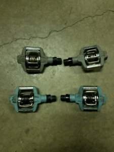 Crank brothers clipless bike pedals