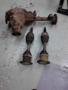 "97-03 ford rev 8.8"" front diff 4.11 with cv shafts"