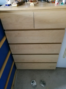Ikea tall 6 drawer dresser